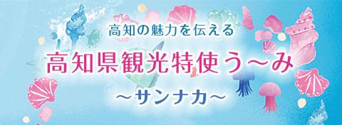 高知県観光特使う~み『サンナカ』